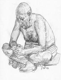 Riese, Mann, Koloss, Zeichnungen