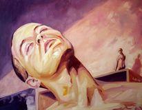 Selbstportrait, Mann, Augen, Kopf