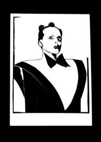 Countertenor, Maske, Kabuki, Nomi