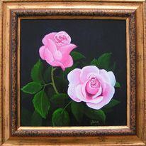 Rose, Natur, Malerei