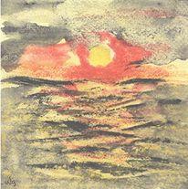 Norwegen, Nordsee, Wasser, Sonnenuntergang