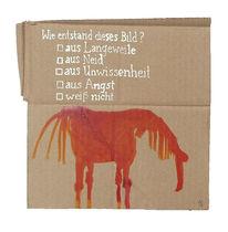 Ignoranz, Pferde, Angst, Langeweile
