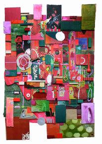 Rot, Baustelle, Grün, Leben