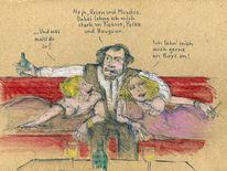 Malen, Beuys, Polke, Picasso