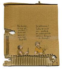 Nachbar, Paar, Tausch, Zeichnungen