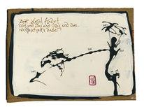 Vogel, Haiku, Poesie, Zeichnungen