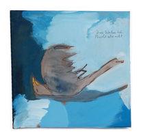 Vogel, Blau, Tod, Malerei