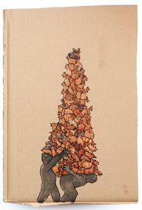 Diebstahl, Schaden, Zweitausendfünfhundert, Zeichnungen