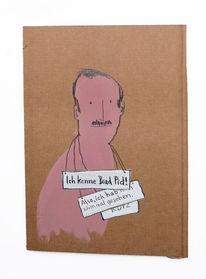 Brad pitt, Mann, Schilder, Zeichnungen