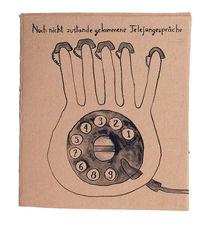 Gespräch, Telefon, Wählscheibe, Zeichnungen