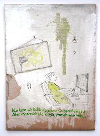 Stress, Kritik, Unberechtigt, Zeichnungen