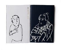 Buch, Ausstellung, Schriftsteller, Zeichnungen