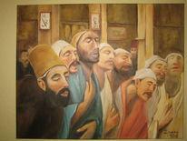 Gebet, Istanbul, Zonaro, Malerei
