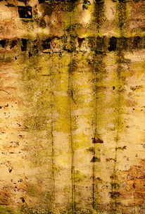 Marode, Ziegel, Wand, Schatten