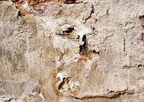 Mörtel, Struktur, Mauer, Verwittert