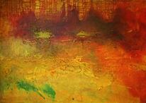 Acrylmalerei, Malerei, Abstrakt, Weiß