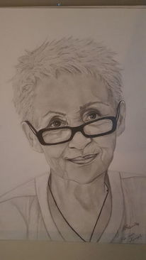 Portraitzeichnung, Zeichnung, Bleistiftzeichnung, Zeichnungen