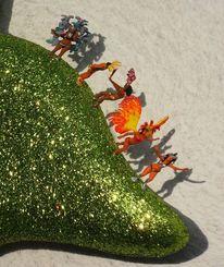 Silvester, Miniaturfiguren, 2014, Fotografie