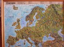 Geschenk, Geographisch, Gips, Landkarte