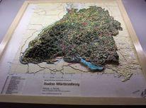 Gegenwartskunst, Bodensee, Gips, Wald