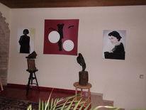 Naturalistisch, Portrait, Malerei,