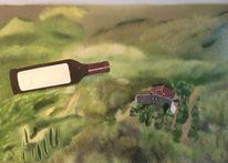 Naturalistisch, Toscanisch, Lebensfroh, Malerei