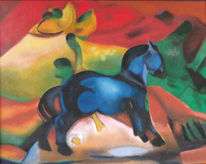 Naturalistisch, Fantasie, Nachempfunden, Malerei