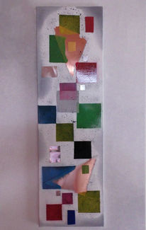 Konstruktiv, Assoziativ, Mischtechnik, Coloured
