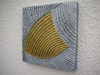 strukturenpate auf acryl