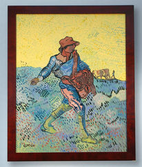 Sämann, Van gogh, Malerei, Gogh