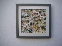 Bruchstrukturpaste kn 17, Bunt, Kunsthandwerk