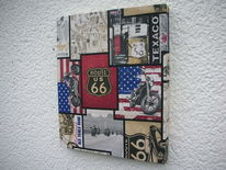 Dekoration, Route 66, Kunsthandwerk,