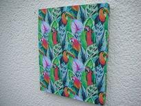 Kunsthandwerk, Textil, Holzbildhauerei