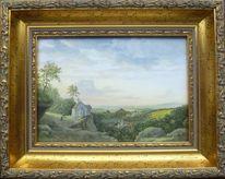Feinmalerei, Gegenständliche, Himmel, Realismus