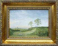 Feinmalerei, Baum, Realismus, Alte meister