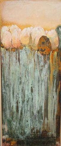 Acryl oxydiert, Malerei