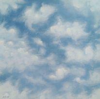 Wolken, Veränderung, Himmel, Malerei