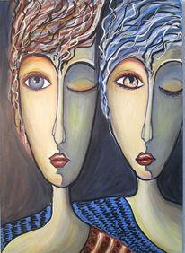Wandmalerei, Malerei, Amigo, Modern