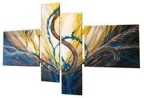 Ölmalerei, Kunstdruck, Mehrteilig, Wandmalerei