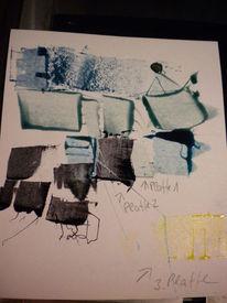 Buch, Farbbrobe, Transparenz, Pantone druckfarben