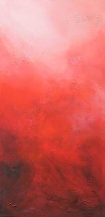 Acrylmalerei, Espressivo, Corragio, Rose