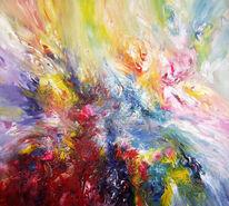 Malerei, Modern, Gemälde, Abstrakt