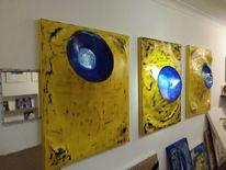 Ausstellung, Weber, Tuch, Malerei