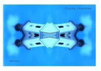 Eichendorf, Blau, Farben, Turm