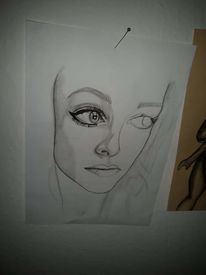 Bleistiftzeichnung, Malerei, Portrait, Karikatur