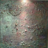 Gold, Struktur, Acrylmalerei, Fantasie