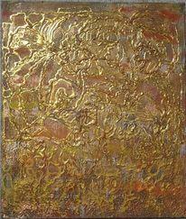 Struktur, Gold, Acrylmalerei, Fantasie