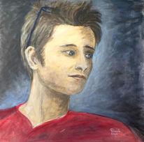Julan portrait männlich, Malerei