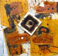 Rost, Orange, Malerei