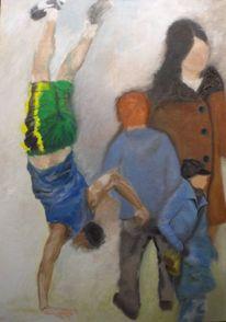 Tanz, Bewegung, Akrobatik, Fußgänger